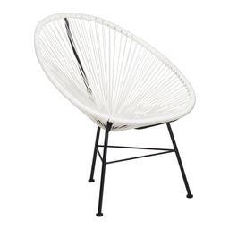 White Acapulco Chair (White - Single)   Overstock