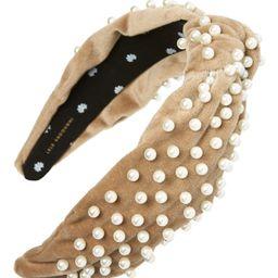 Pearly Velvet Headband | Nordstrom