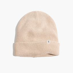 Recycled Cotton Cuffed Beanie   Madewell