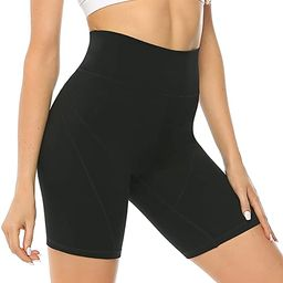 JOYSPELS Womens Athletic Shorts High Elasticity for Workout Yoga Biker Training Running Gym,High ... | Amazon (US)