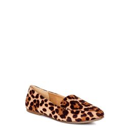 Time and Tru Women's Animal Print Feather Flats, Available in Wide Width | Walmart (US)