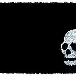 Calloway Mills AZ153602436 Scary Skull Doormat, Black/White | Amazon (US)