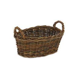 Willow Wood Basket Cheungs Color: Dark Brown | Wayfair North America