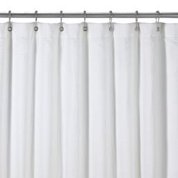 Hotel Terry White Shower Curtain | Bed Bath & Beyond