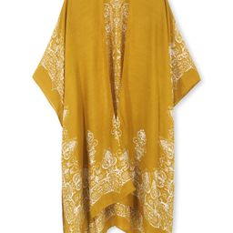 Breezy Lane Women's Beach Coverup Swimsuit Kimono Cardigan with Tie Dye Print   Amazon (US)