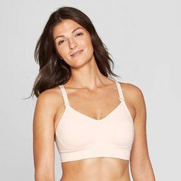 Women's Nursing Seamless Bra - Auden Soft Petal Pink XL   Target