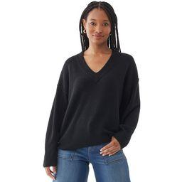 Scoop Women's V-Neck Sweater | Walmart (US)
