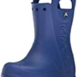 Crocs Kids' Handle It Rain Boots, Easy On for Toddlers, Boys, Girls, Lightweight and Waterproof, Cer   Amazon (US)
