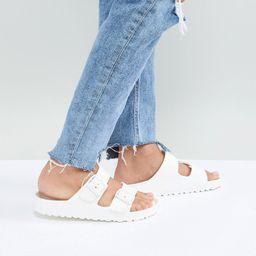 Birkenstock Arizona Eva White Flat Sandals | ASOS (Global)