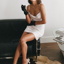 Sought After Satin Cowl Dress | NastyGal (US & CA)