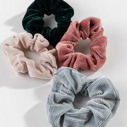 Kinsey Velvet Scrunchie Set - Multi | Francesca's Collections