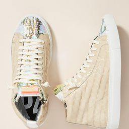 P448 Crocodile High-Top Sneakers By P448 in Assorted Size 40   Anthropologie (US)