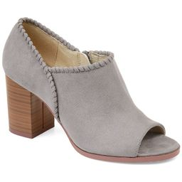 Journee Collection Kimana Women's Ankle Boots, Size: 8, Grey | Kohl's