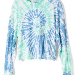 Women's Daydreamer Tie Dye Long Sleeve Crop T-Shirt | Nordstrom