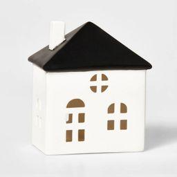 Ceramic Stout House Decorative Figurine White & Black - Wondershop™ | Target