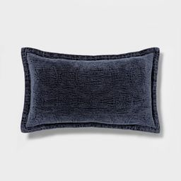 Washed Chenille Pillow - Threshold™ | Target