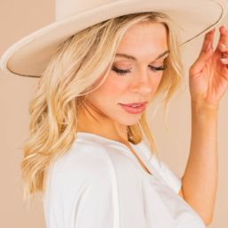 Get The Facts Beige Brown Hat   The Mint Julep Boutique