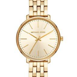 Women's Pyper Gold-Tone Stainless Steel Bracelet Watch 38mm | Macys (US)