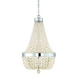 Home Decorators Collection Monticello Park 6-Light Chrome Crystal Chandelier-30331-HBU - The Home...   The Home Depot