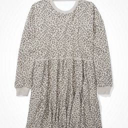 AE Fleece Tiered Babydoll Dress   American Eagle Outfitters (US & CA)