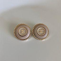Repurposed Chanel Earrings | Etsy | Etsy (US)