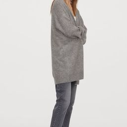 Long cardigan | H&M (UK, IE, MY, IN, SG, PH, TW, HK, KR)