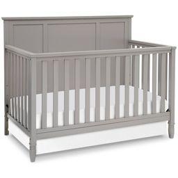 Delta Children Epic 4-in-1 Convertible Crib, Gray   Walmart (US)