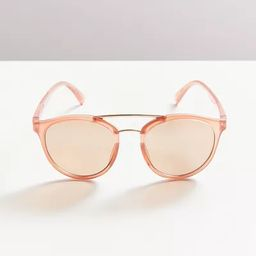 Shiloh Brow Bar Round Sunglasses | Urban Outfitters (US and RoW)