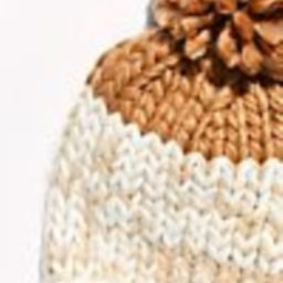 Cozy Up Color Block Pom Beanie   Free People (US)