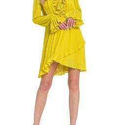 Women's Pleated Mini Dress   Belk