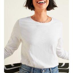 EveryWear Slub-Knit Long-Sleeve Tee for Women   Old Navy (US)