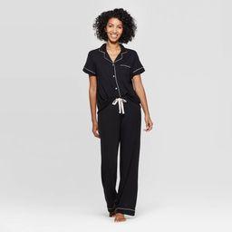 Women's Beautifuy Soft Notch Coar Pajama Set - Stars Above™   Target