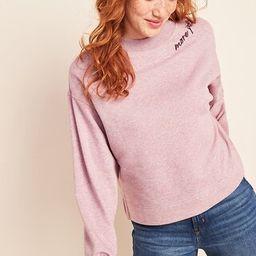 Graphic Crew-Neck Sweatshirt for Women | Old Navy (US)