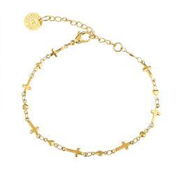 Dainty Cross Bracelet   Victoria Emerson