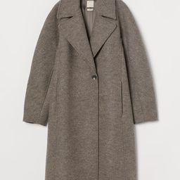 Wool coat   H&M (UK, IE, MY, IN, SG, PH, TW, HK)
