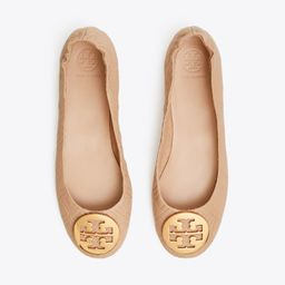 Minnie Travel Ballet Flat, Quilted Leather   Tory Burch (US)