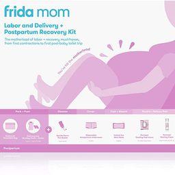 Frida Mom Hospital Packing Kit for Labor, Delivery, Postpartum   Nursing Gown, Socks, Peri Bottle...   Amazon (US)