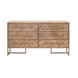 Derwent 6 Drawer Double Dresser   Wayfair North America