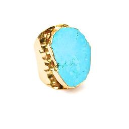 Turquoise Mesa Ring Cuff | Accessory Concierge