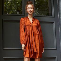 Women's Long Sleeve Babydoll Dress - A New Day™   Target