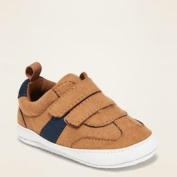 Faux-Suede Secure-Close Sneakers for Baby | Old Navy (US)
