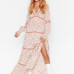 Plant You See Floral Maxi Dress | NastyGal (US & CA)