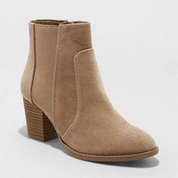Women's Catlin Double Gore Ankle Bootie - Universal Thread™ | Target