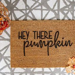 Hey There Pumpkin Welcome Door Mat | Etsy | Etsy (CAD)