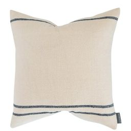 Abigail Silk Stripe Pillow Cover | McGee & Co.