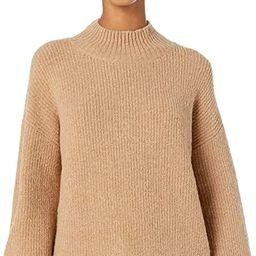 Amazon Brand - Goodthreads Women's Boucle Shaker Stitch Balloon-Sleeve Sweater   Amazon (US)