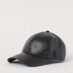Faux Leather Cap | H&M (US)