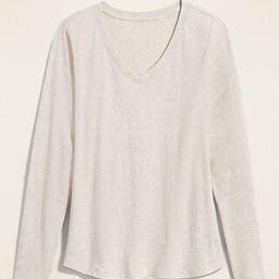 EveryWear V-Neck Long-Sleeve Tee for Women | Old Navy (US)