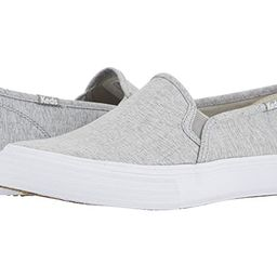 Keds Double Decker Heathered Woven (Light Gray) Women's Shoes | Zappos