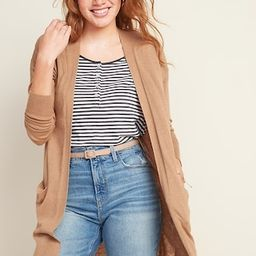 Super-Long Open-Front Sweater for Women | Old Navy (CA)